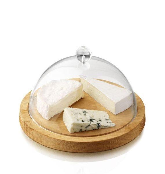 BOSKA Oak Cheese Board with Dome-BOSKA