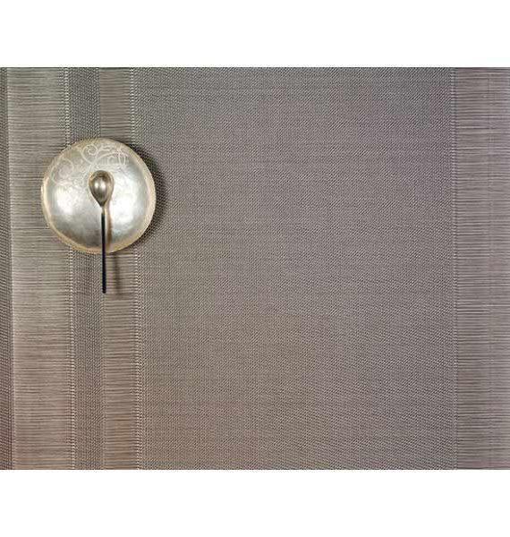 Chilewich Tuxedo Stripe Silver Placemat-Chilewich