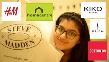 Dubai 3 Day Super Sale Haul | Sephora, Steve Madden, H&M, Kiko Milano, Cotton On, Home Centre