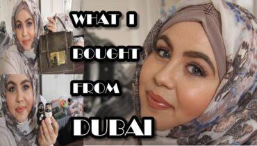 DUBAI SHOPPING HAUL ( WHAT I BOUGHT IN DUBAI?) | MARWA CHEBBI