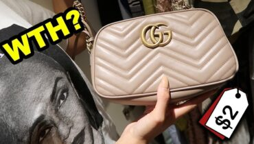 LUXURY THRIFT SHOPPING IN DUBAI!! (WE FOUND GUCCI)