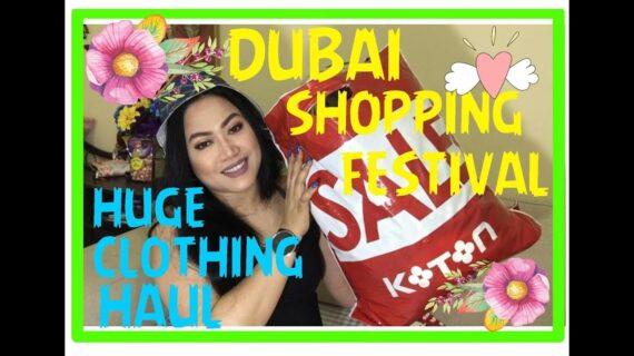DUBAI SHOPPING FESTIVAL HUGE CLOTHING HAUL 2018 || CANDY 'S ROUGE