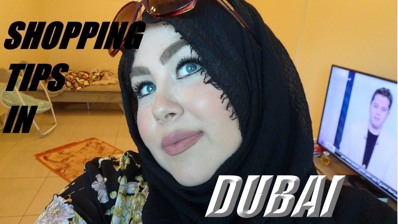 SHOPPING TIPS IN DUBAI | MARWA CHEBBI