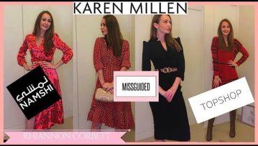 MASSIVE SHOPPING HAUL | NAMISH | KAREN MILLEN | DUBAI MALL | MARINA HOME