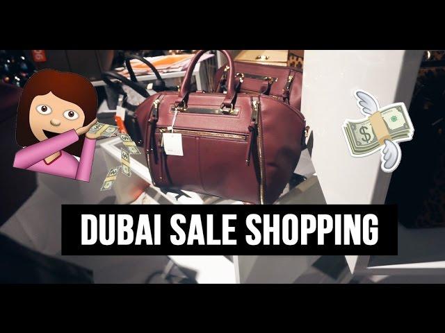 MASSIVE DUBAI SHOPPING SALE | Vlog 11