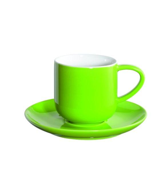 ASA Coppa Espresso Kiwi Cup and Saucer