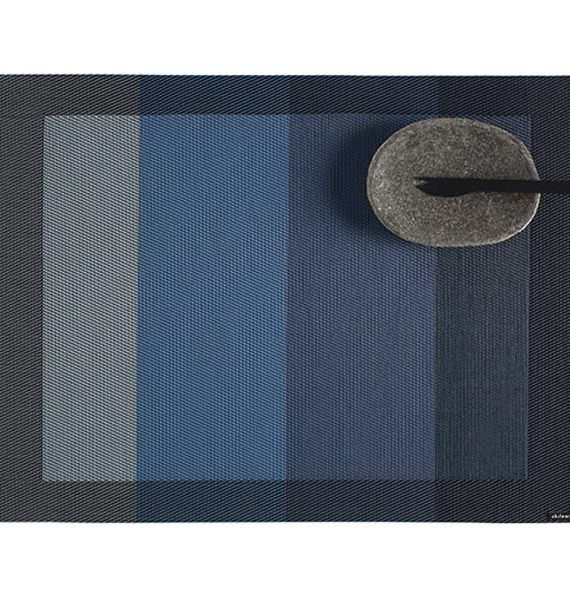 Chilewich Color Tempo Indigo Placemat-Chilewich