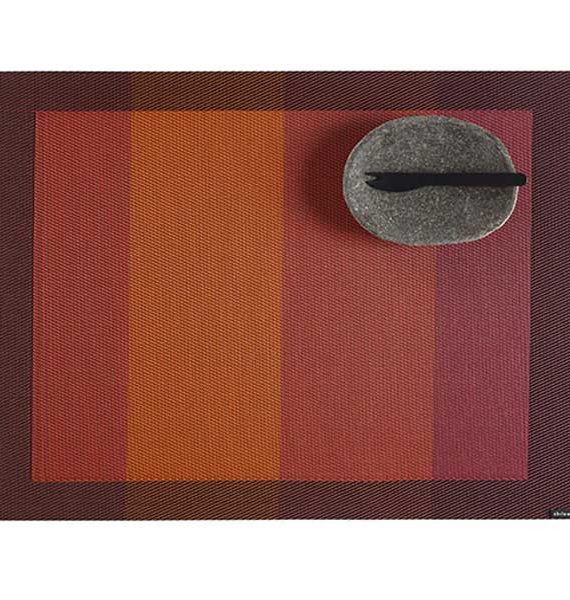 Chilewich Color Tempo Paprika Placemat-Chilewich