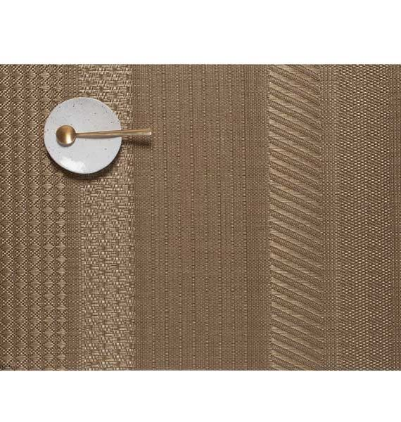 Chilewich Mixed Weave Luxe Gold Placemat-Chilewich