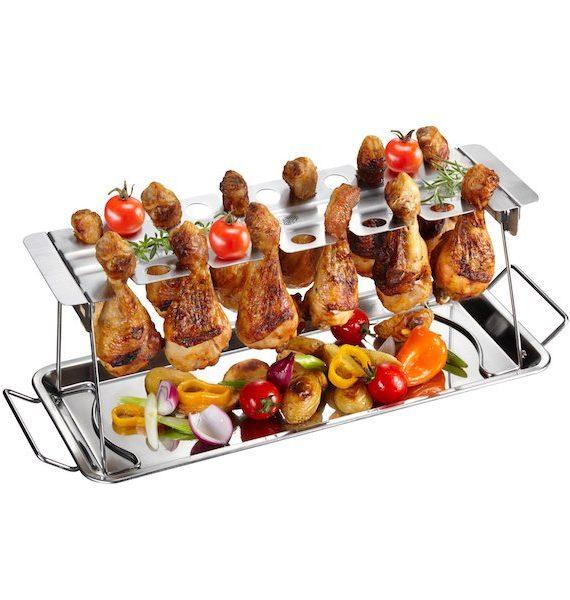 GEFU BBQ Chicken Leg Holder-GEFU