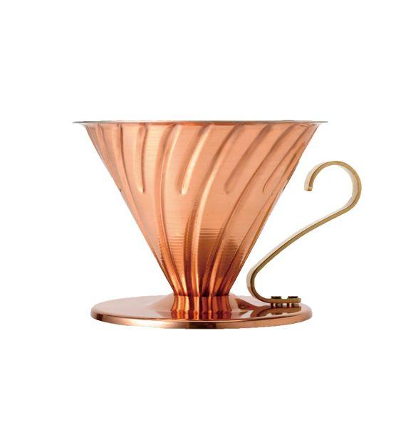 Hario V60 Copper Pour-Over Coffee Dripper-Hario