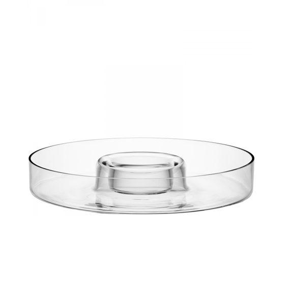LSA International Serve Round Platter 35cm Clear-LSA International