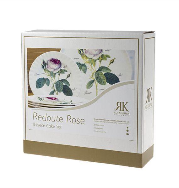 Roy Kirkham Redoute Rose Cake Set-Roy Kirkham