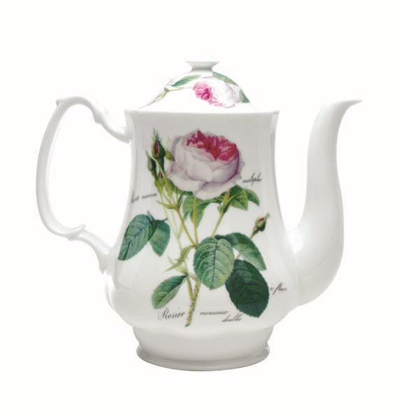 Roy Kirkham Redoute Rose Coffee Pot-Roy Kirkham
