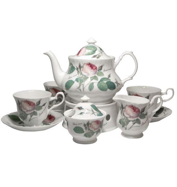 Roy Kirkham Redoute Rose Tea