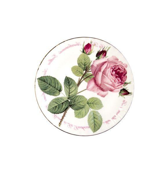 Roy Kirkham Versailles Gold Tea Plate-Roy Kirkham