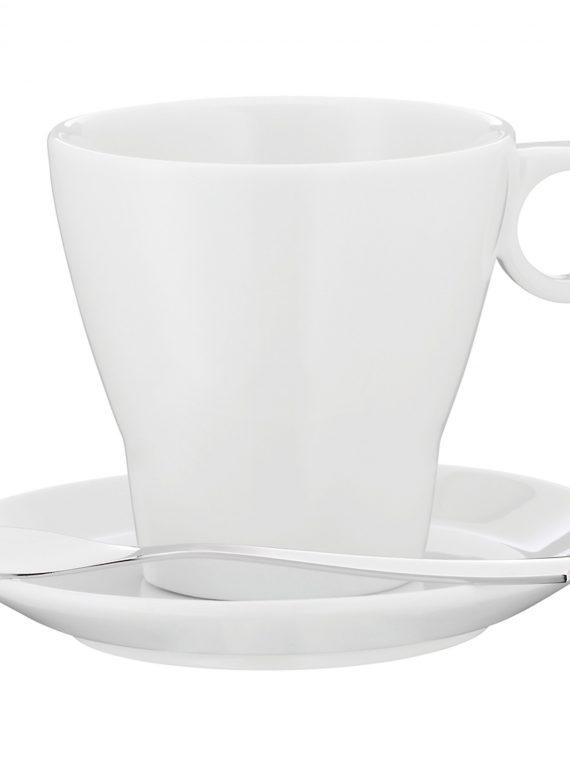 WMF Barista Doppio Espresso Cup & Saucer Set-WMF