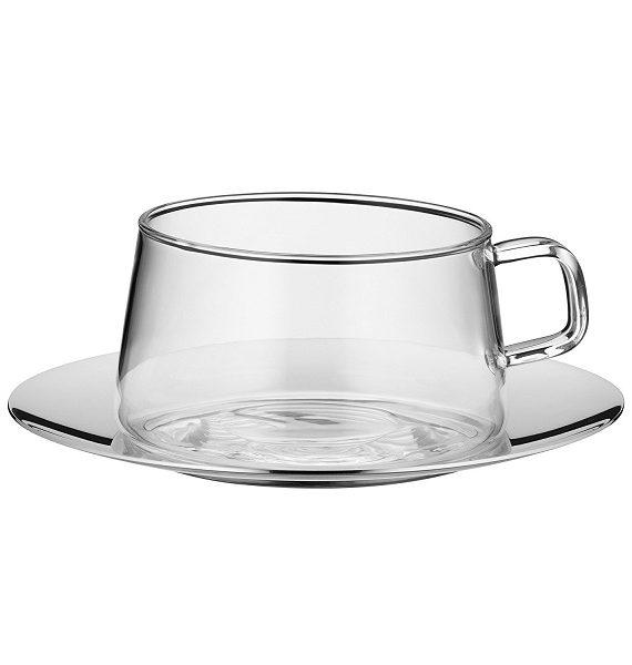 WMF TeaTime Tea Cup & Saucer-WMF