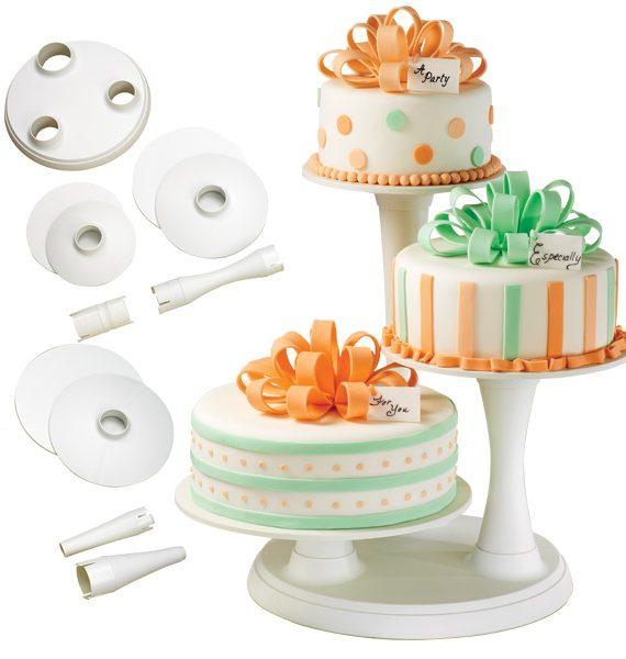 Wilton 3-Tier Pillar Cake Stand-Wilton