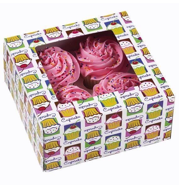 Wilton Cupcake Heaven for 4 -Cupcake Box-Wilton