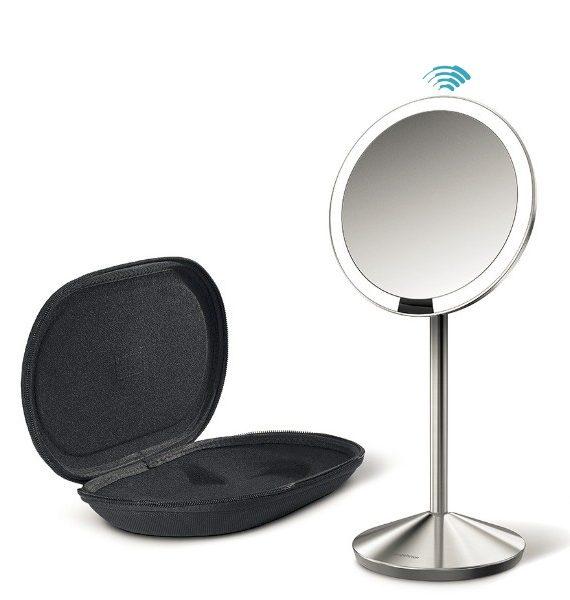 simplehuman Sensor Mirror Mini With Travel Case-simplehuman