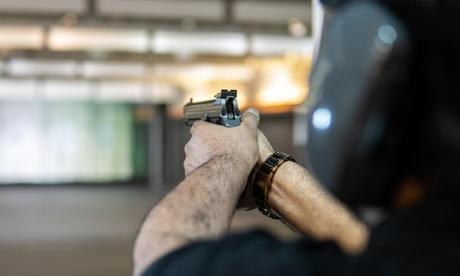 Shooting at Caracal Shooting Club