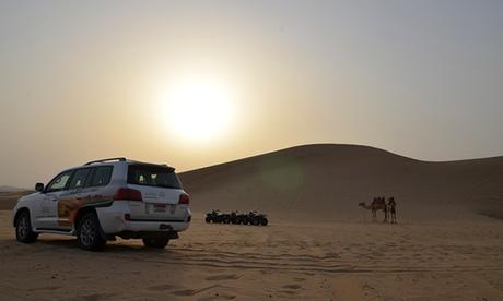 Desert Safari with Falcon Viewing