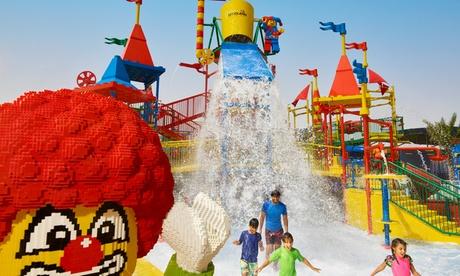 Ras al-Khaimah: Summer Splash4* One-Night Family Stay